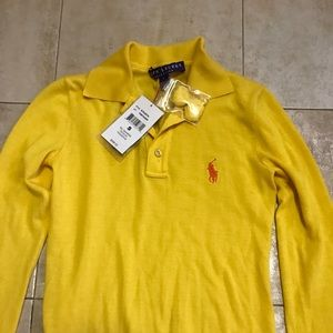 Sweaters - Ralph Lauren cashmeres polo sweater